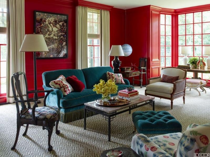 Design by J. Randall Powers via   Elle Decor