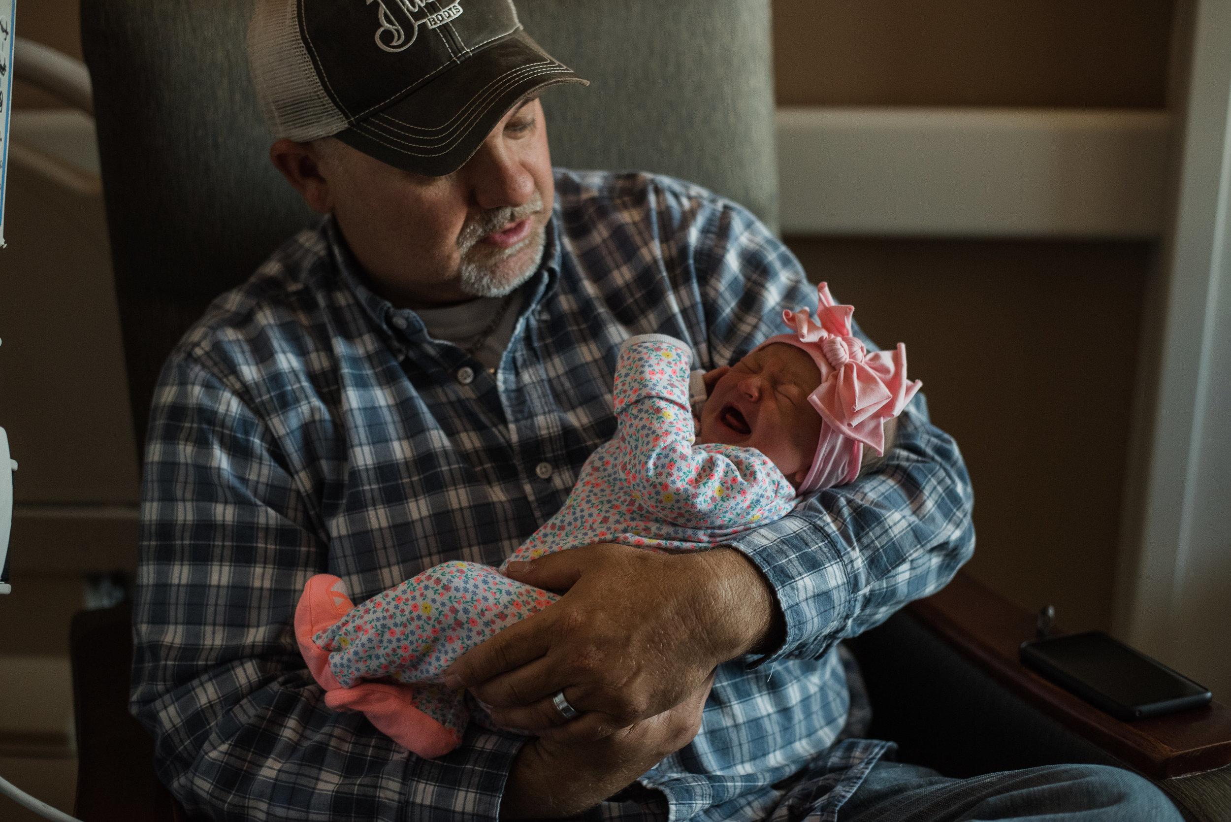 grandpa with baby-child pensacola photographer