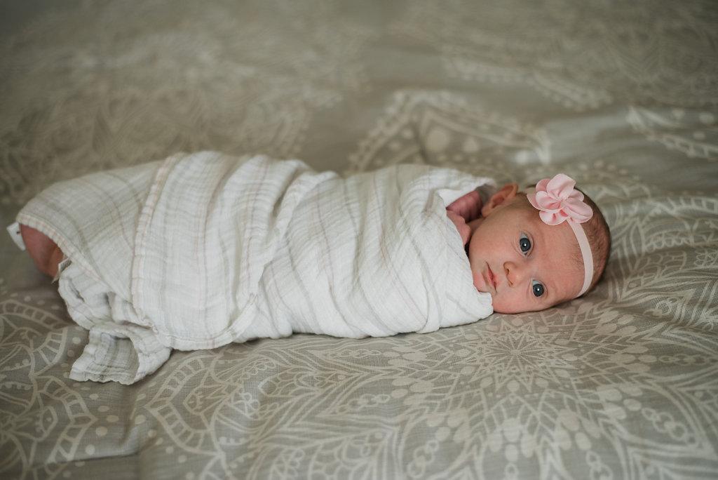 baby with headband-gulf breeze photographer