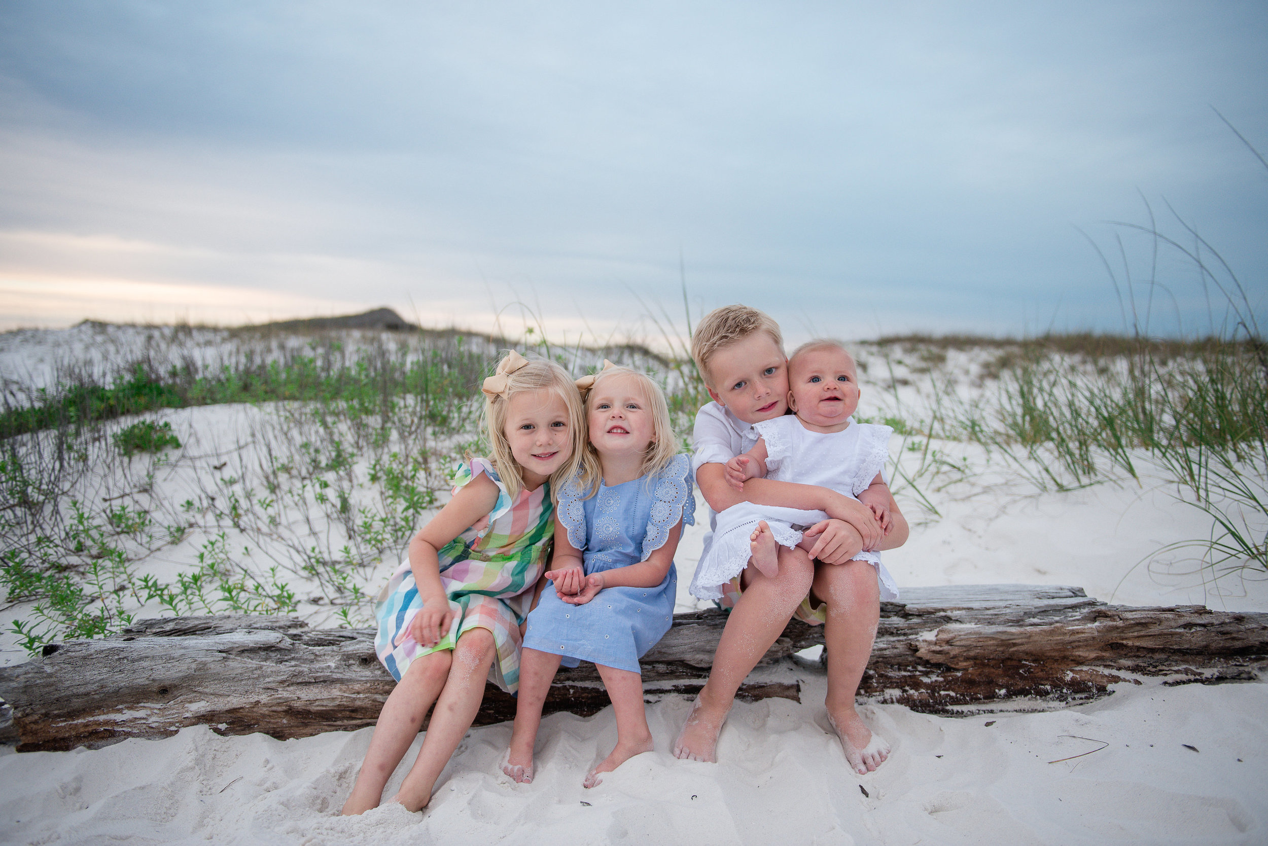kids at beach-Pensacola Beach photographer