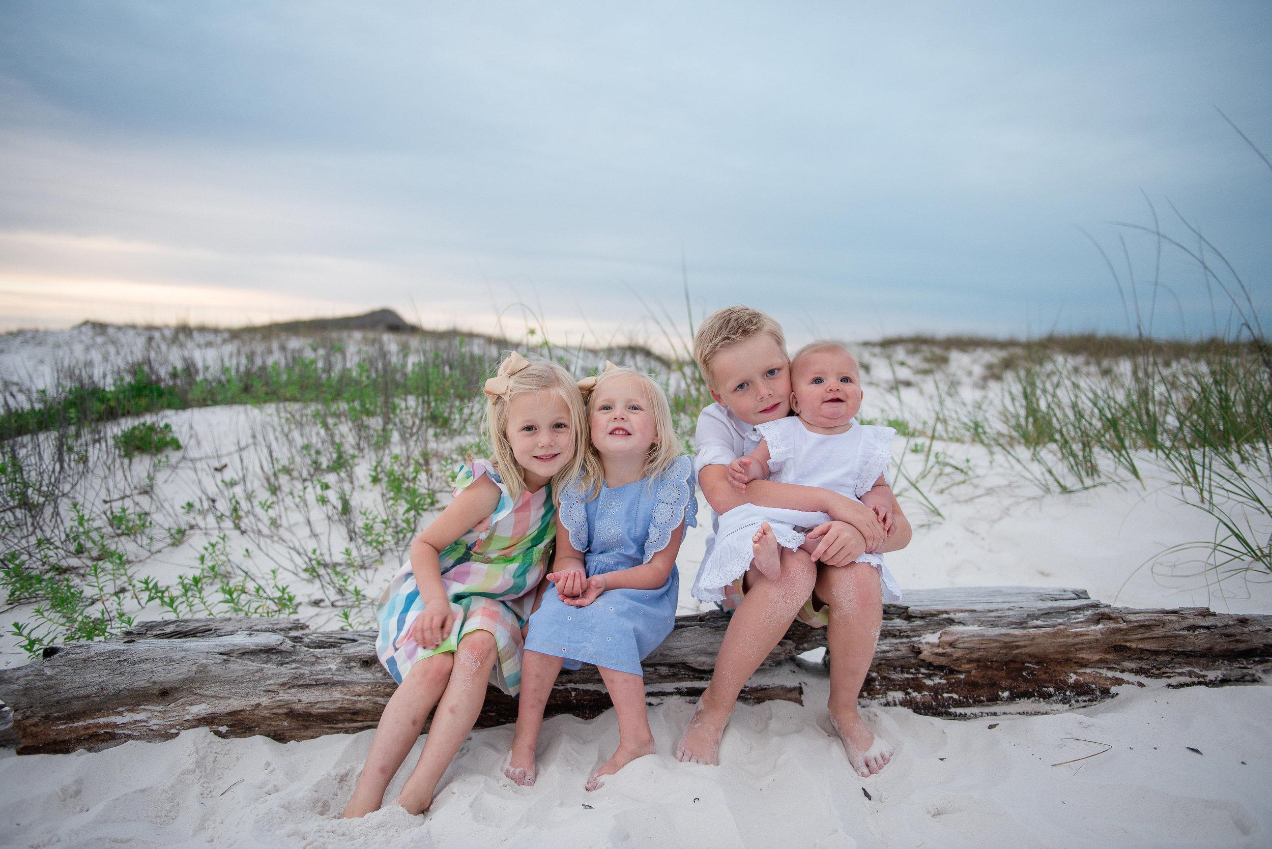 kids at beach-Pensacola Beach photographer