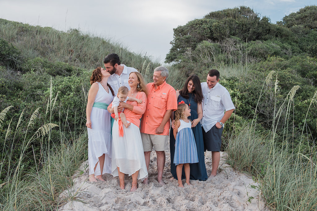 Extended family beach session-pensacola photographer