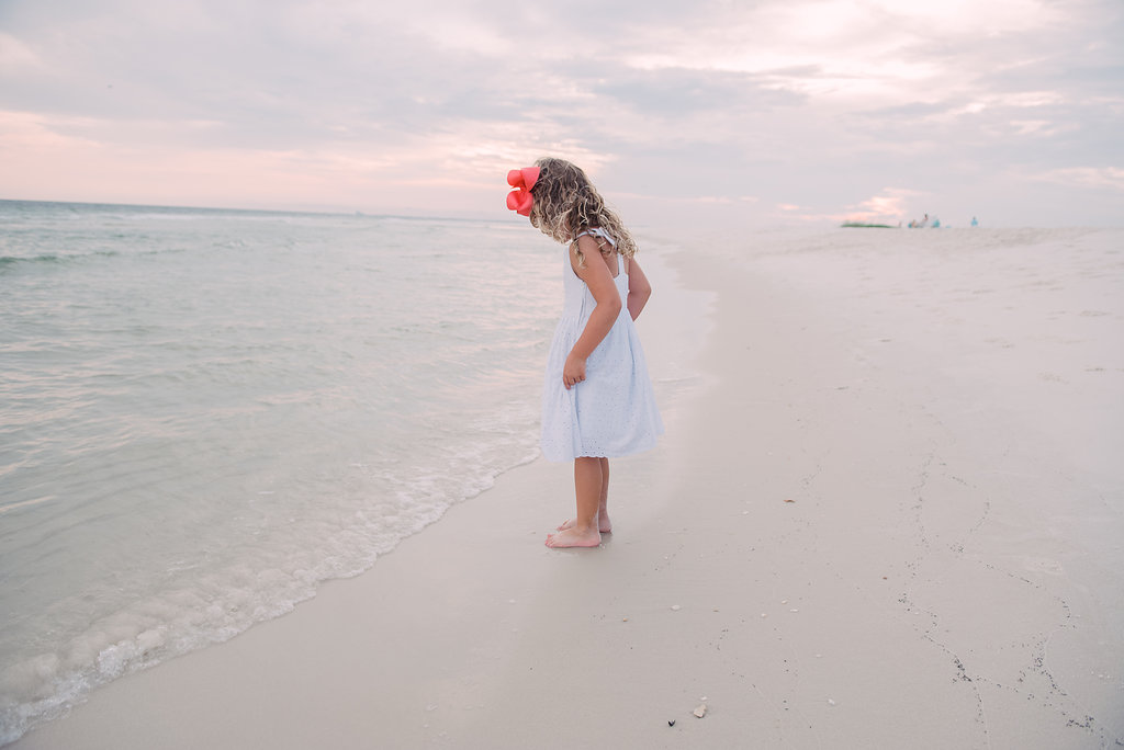 girl at beach-pensacola photographer