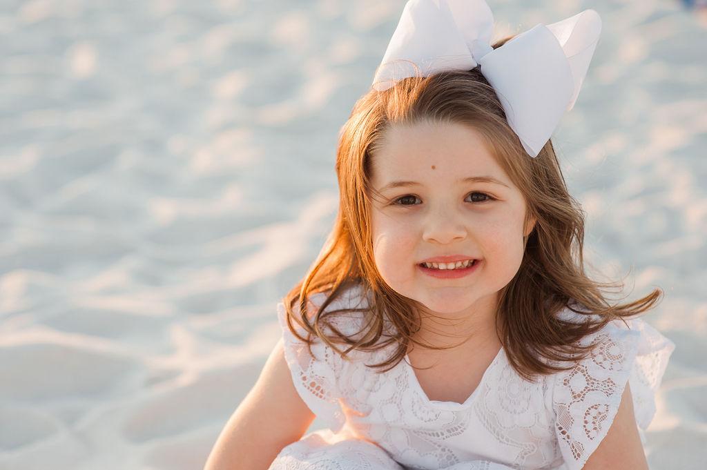 girl at beach-pensacola family photographer
