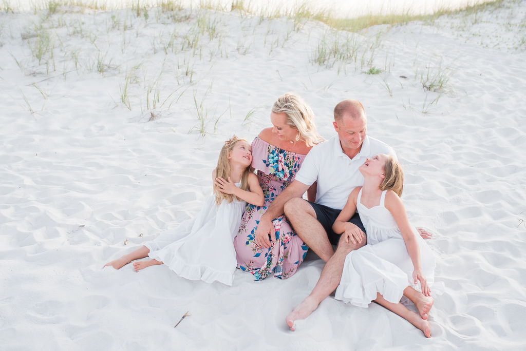 family in dunes-pensacola family photographer