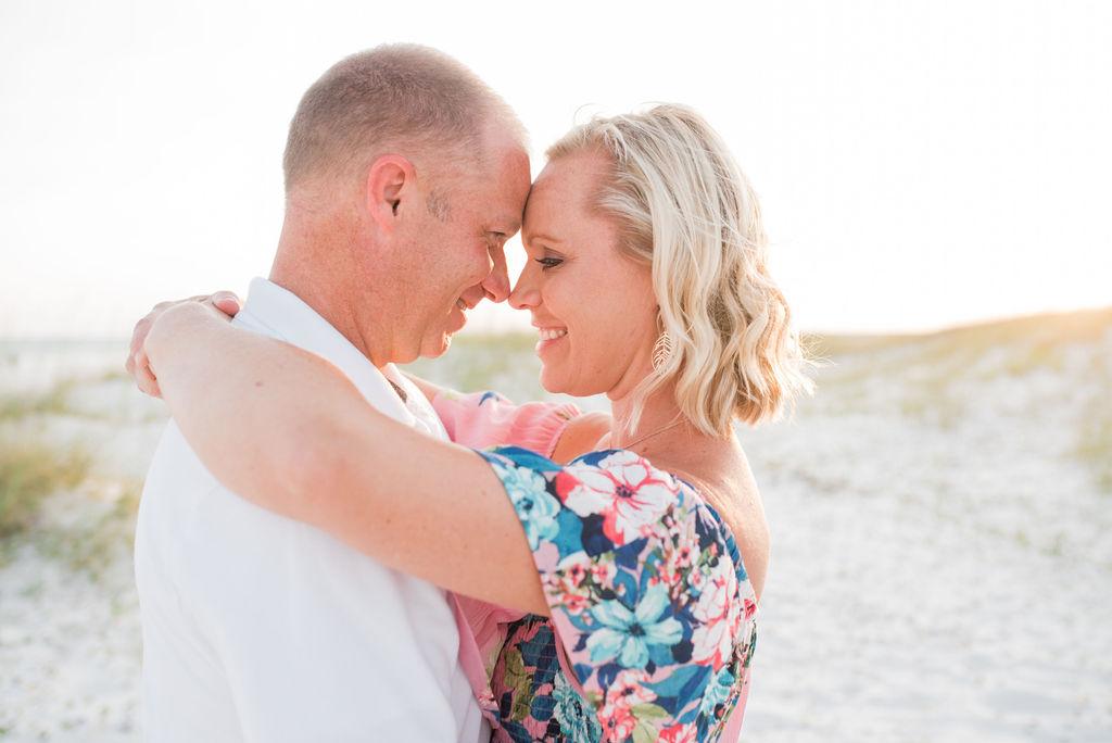 couple by dunes-pensacola family photographer