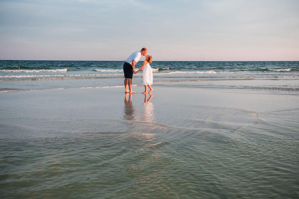 family by ocean-Pensacola family photographer
