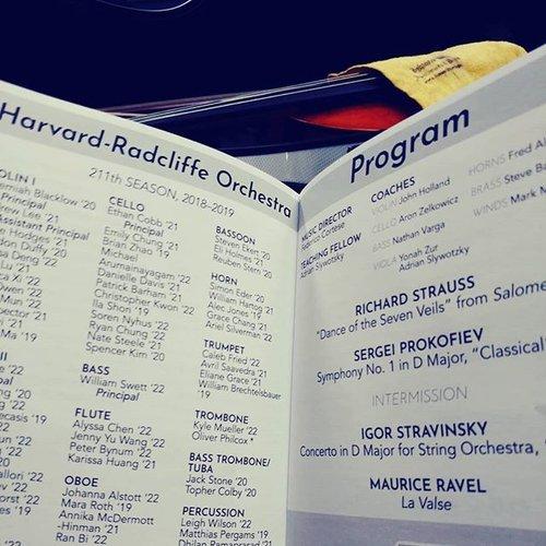 FAQ — The Harvard-Radcliffe Orchestra