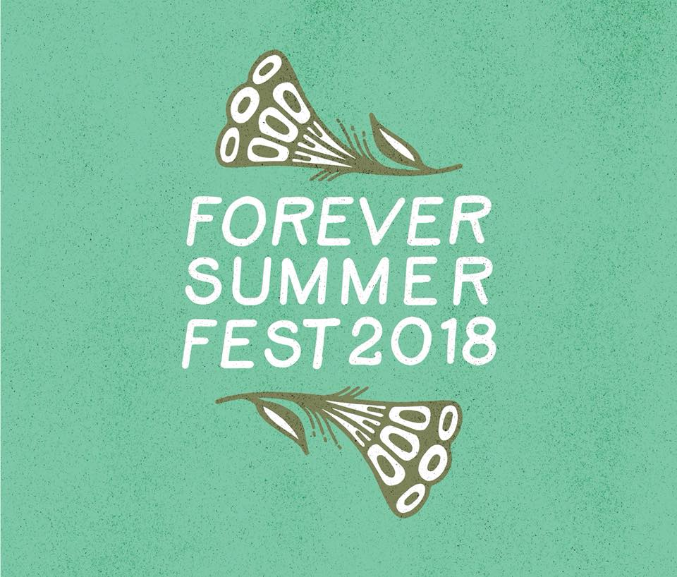 Flyer for Forever Summer Fest 2018