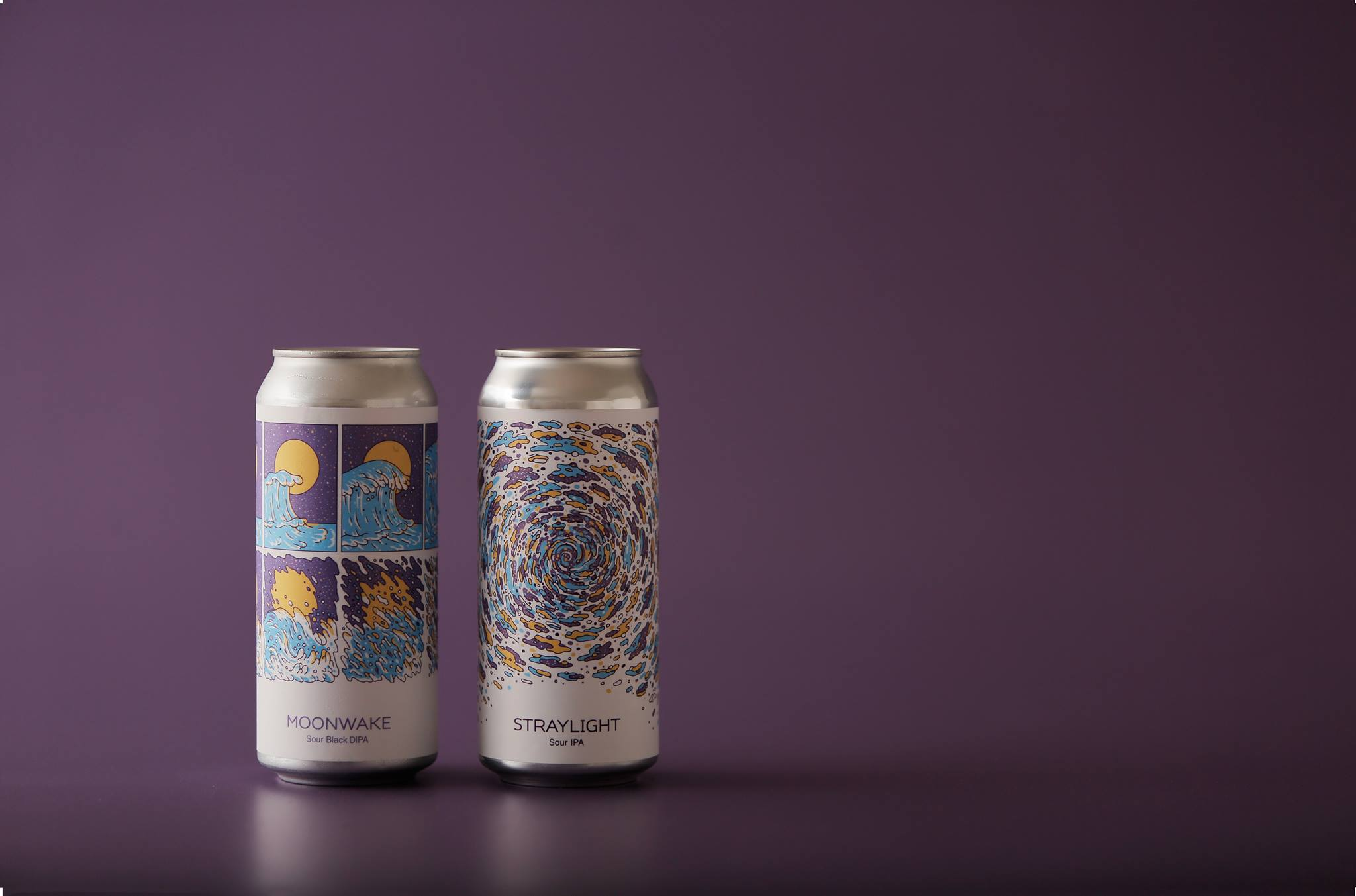Photo of Moonwake and Straylight cans