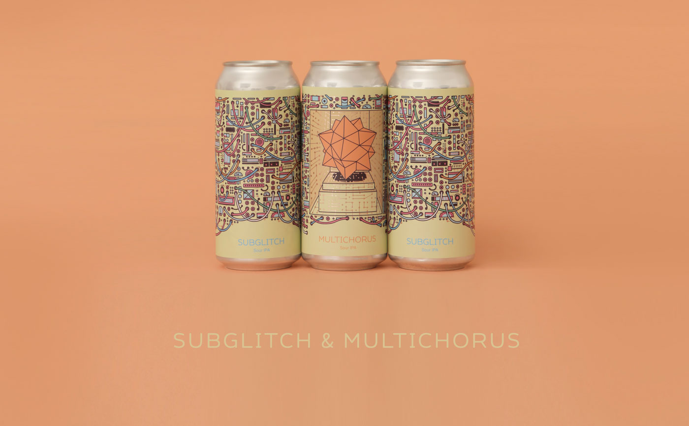 Cans of Subglitch and Multichorus