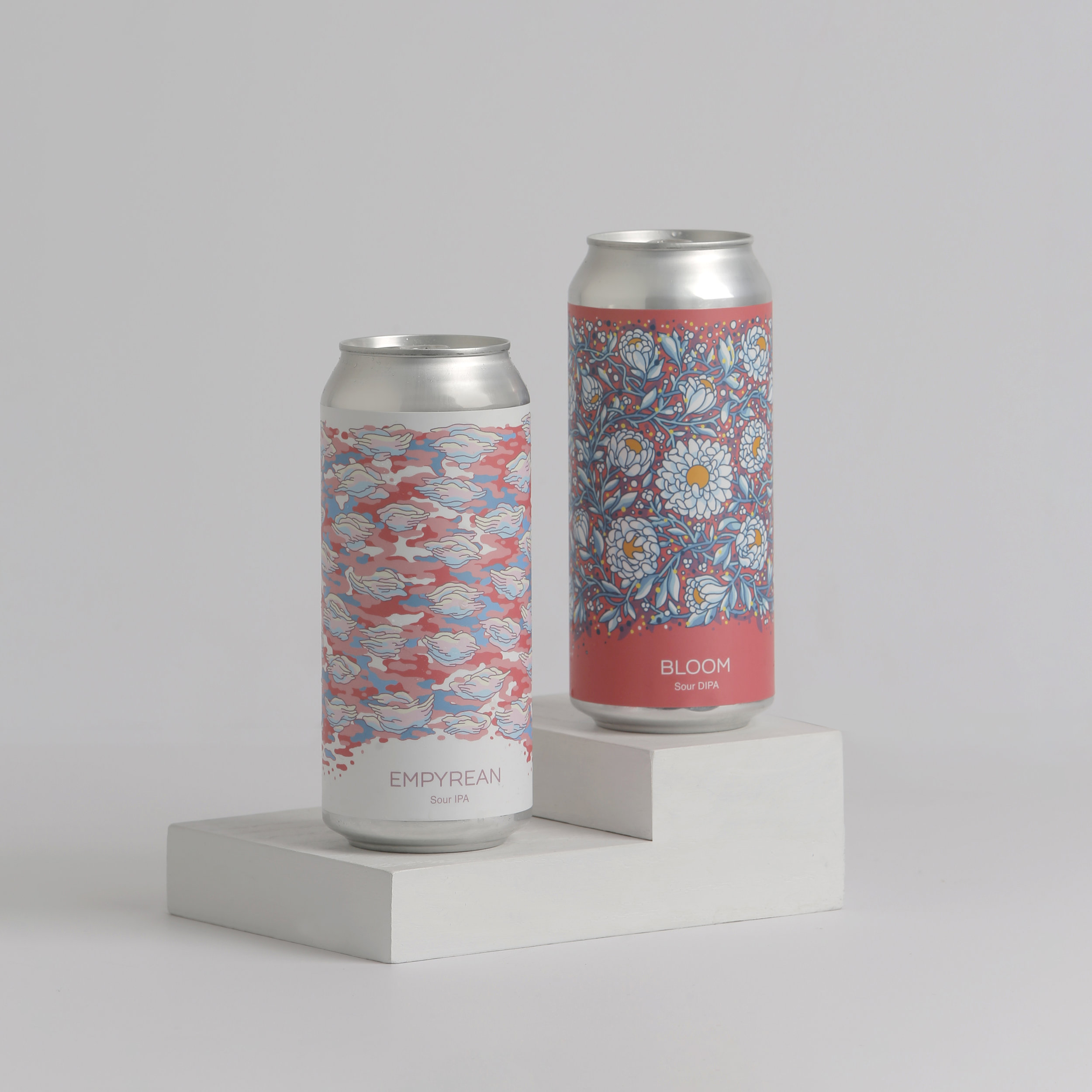 Cans of Bloom and Empyrean