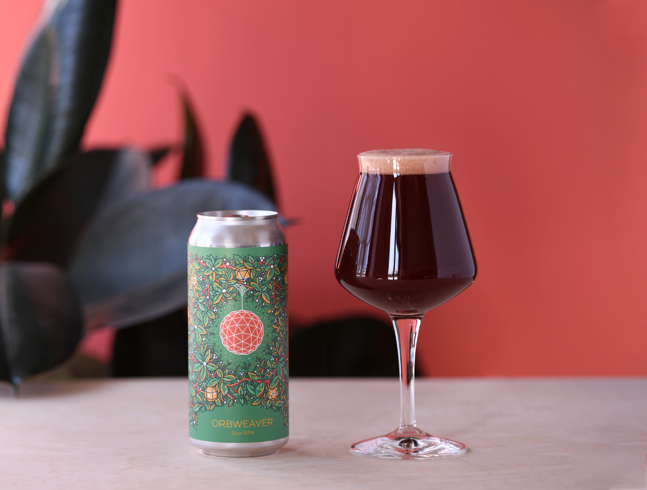 Photo of Orbweaver in a can and Teku