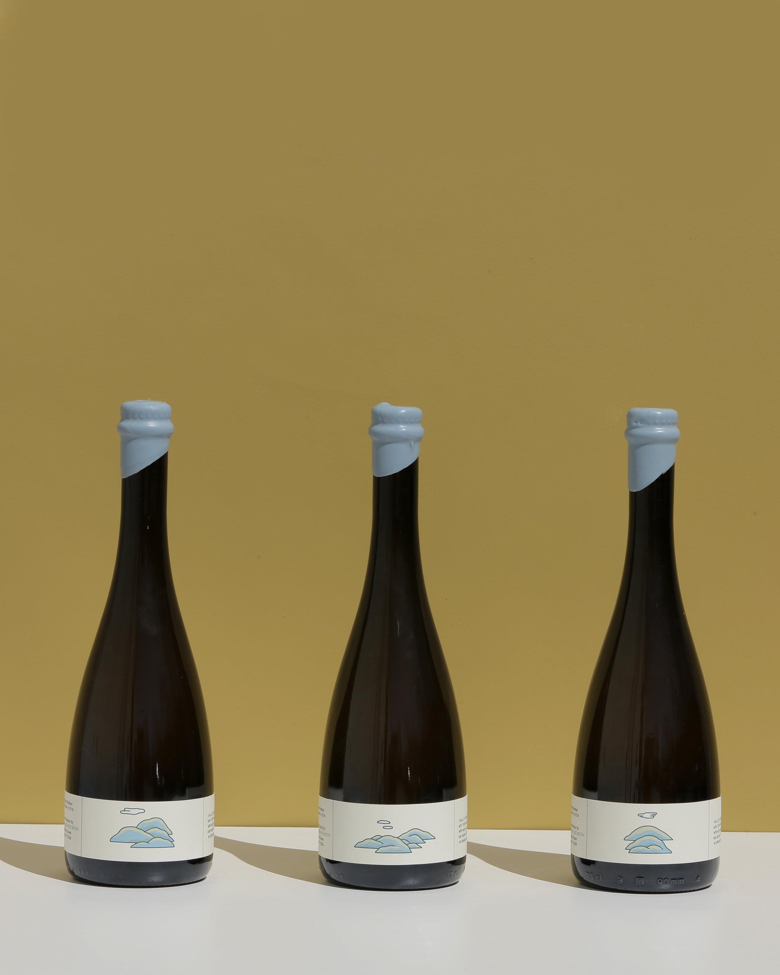 Photo of Valley beer bottles
