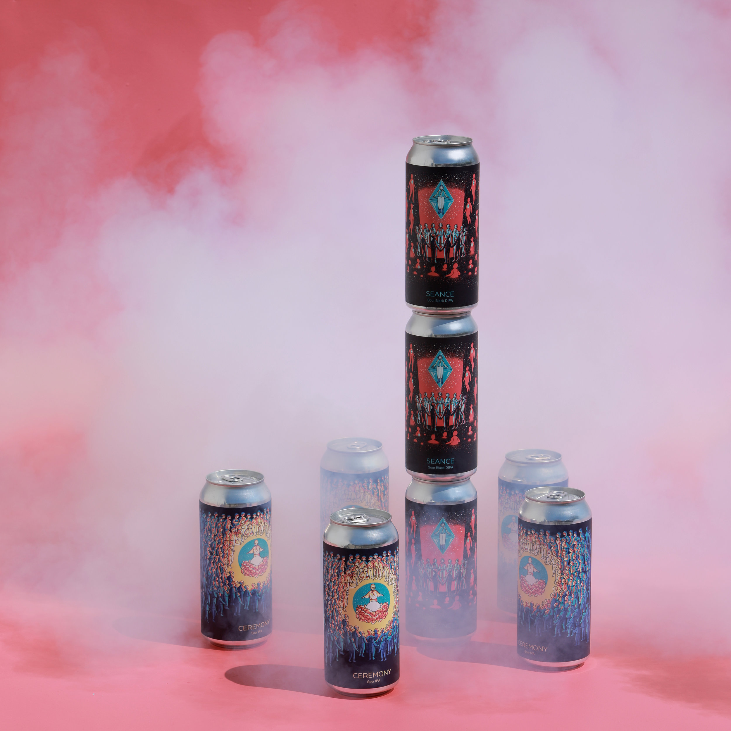 Photo of Ceremony and Seance cans