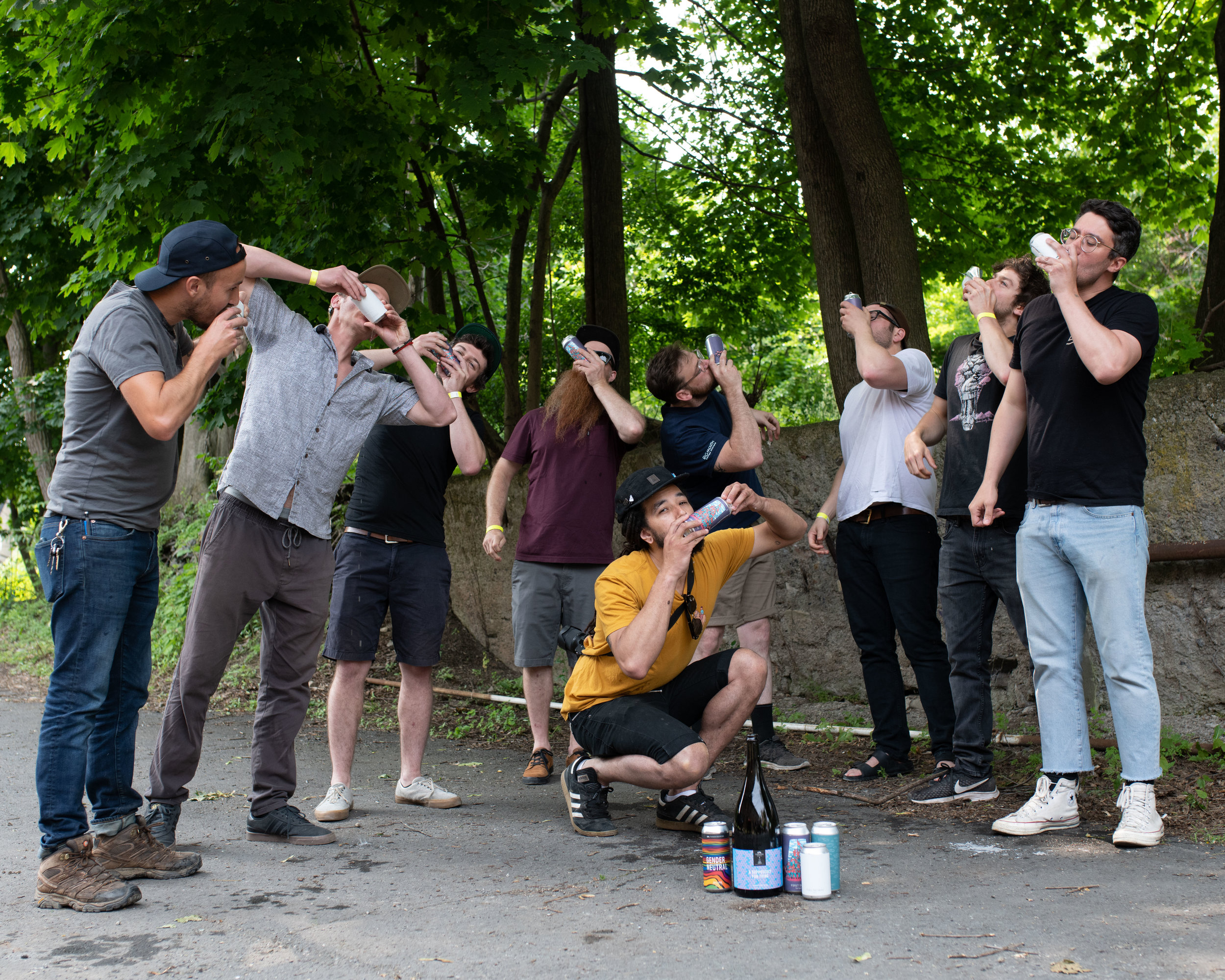 The Union of Lager Lads in The City of Beacon, New York.