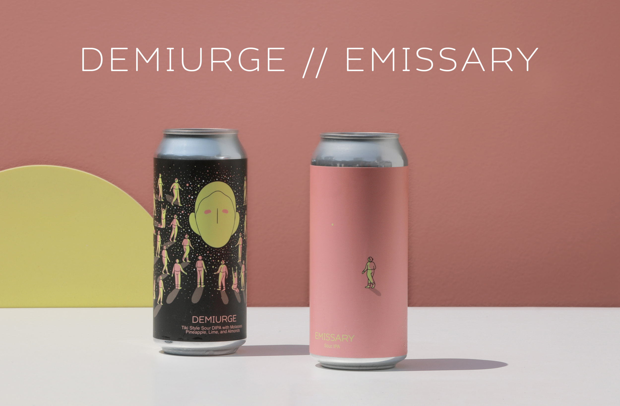 Photo of Demiurge and Emissary Cans