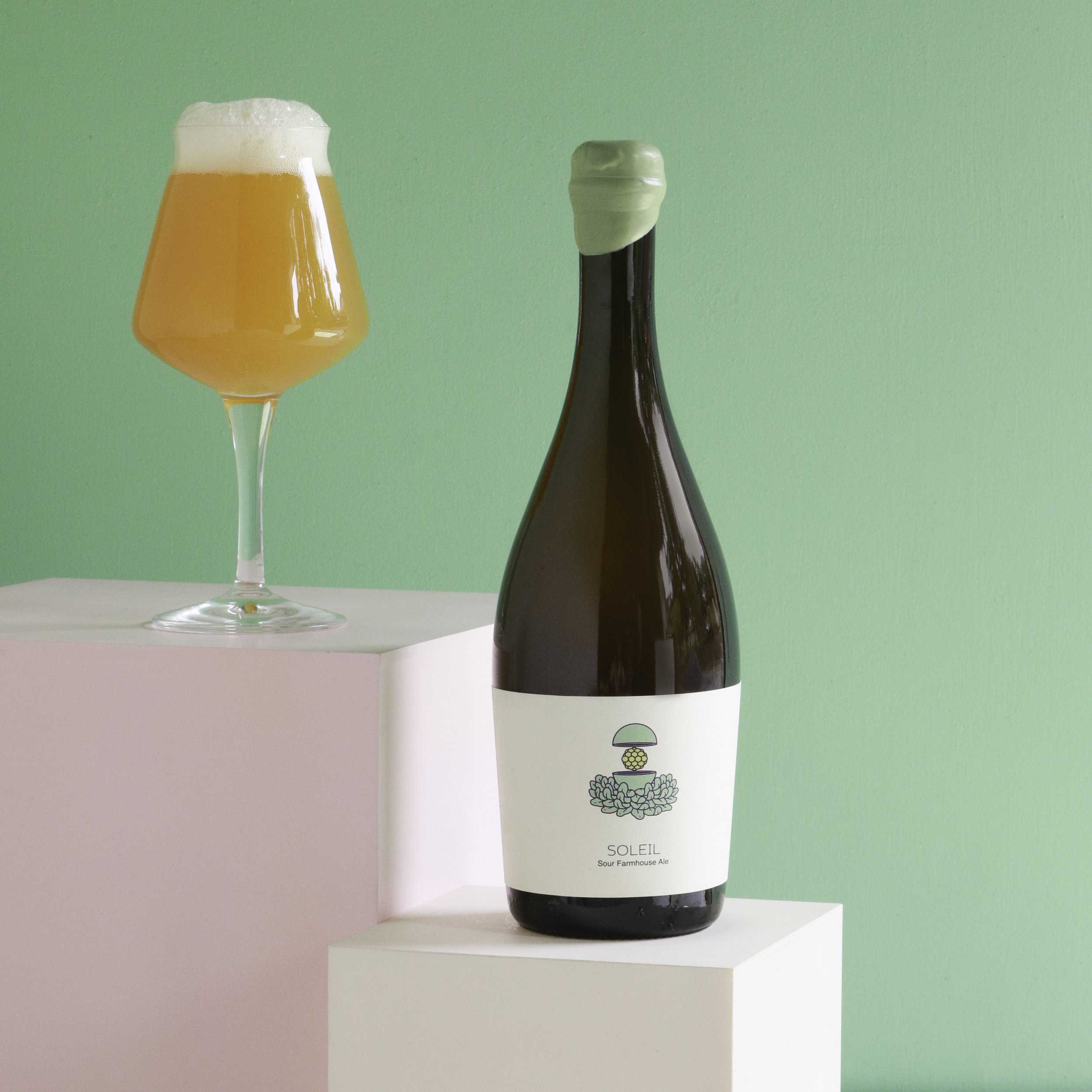 Photo of Soleil Sour Farmhouse Bottle