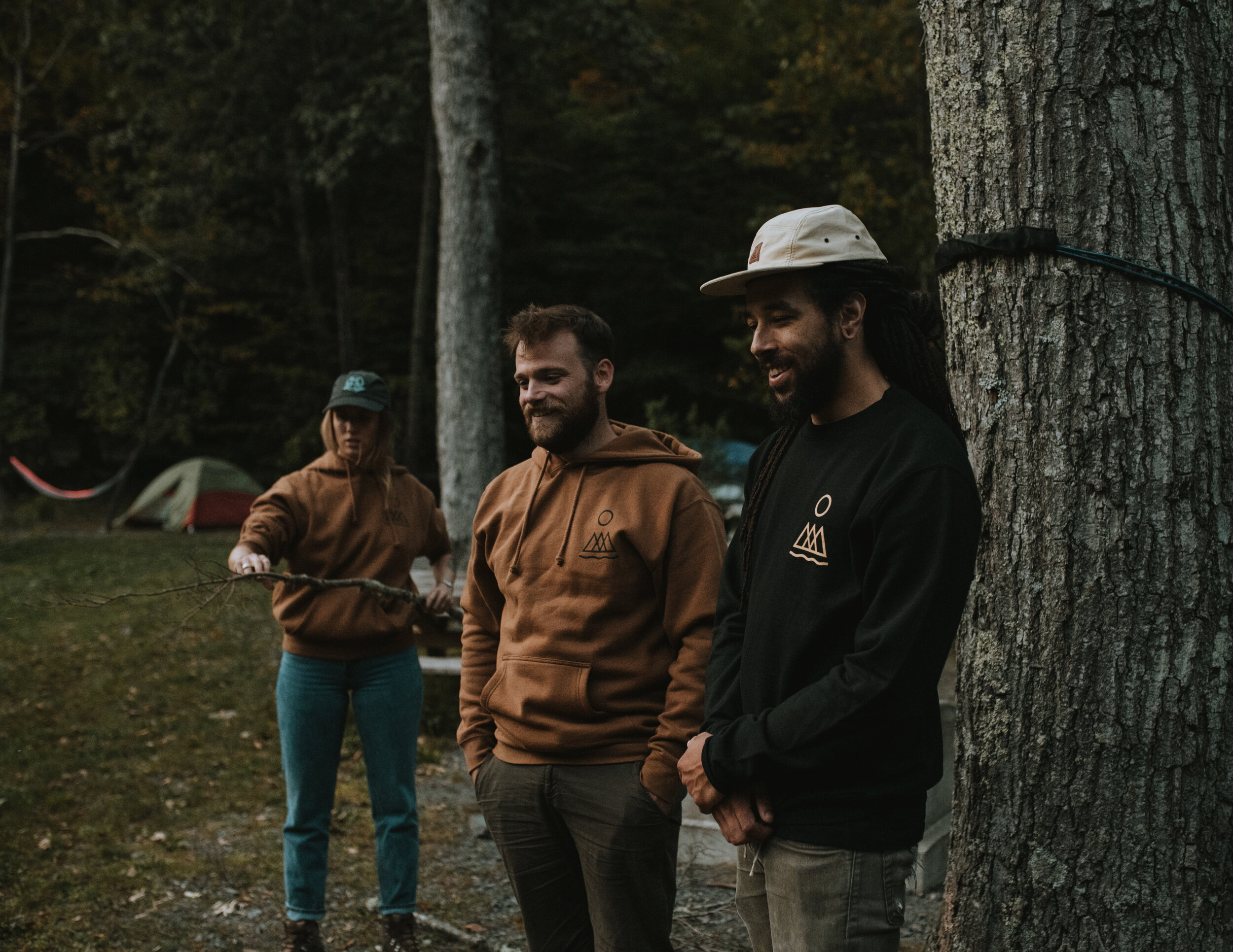Photo of Jamal, Conor and Mary