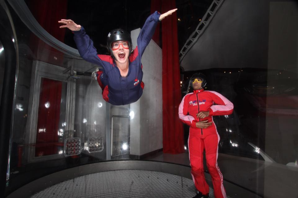 After three traditional skydives, I decided to give indoor skydiving a chance