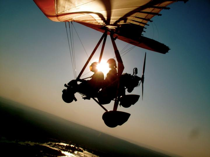 Microlight/flying bicycle
