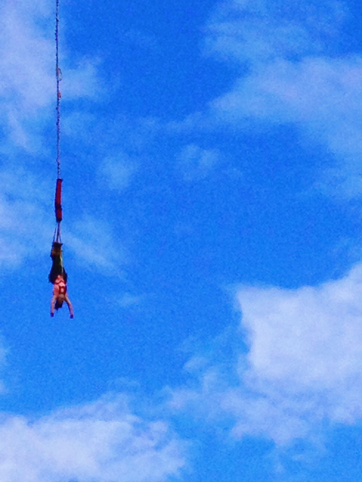 My third bungee (of four so far) and definitely the most uncomfortable/unsafe