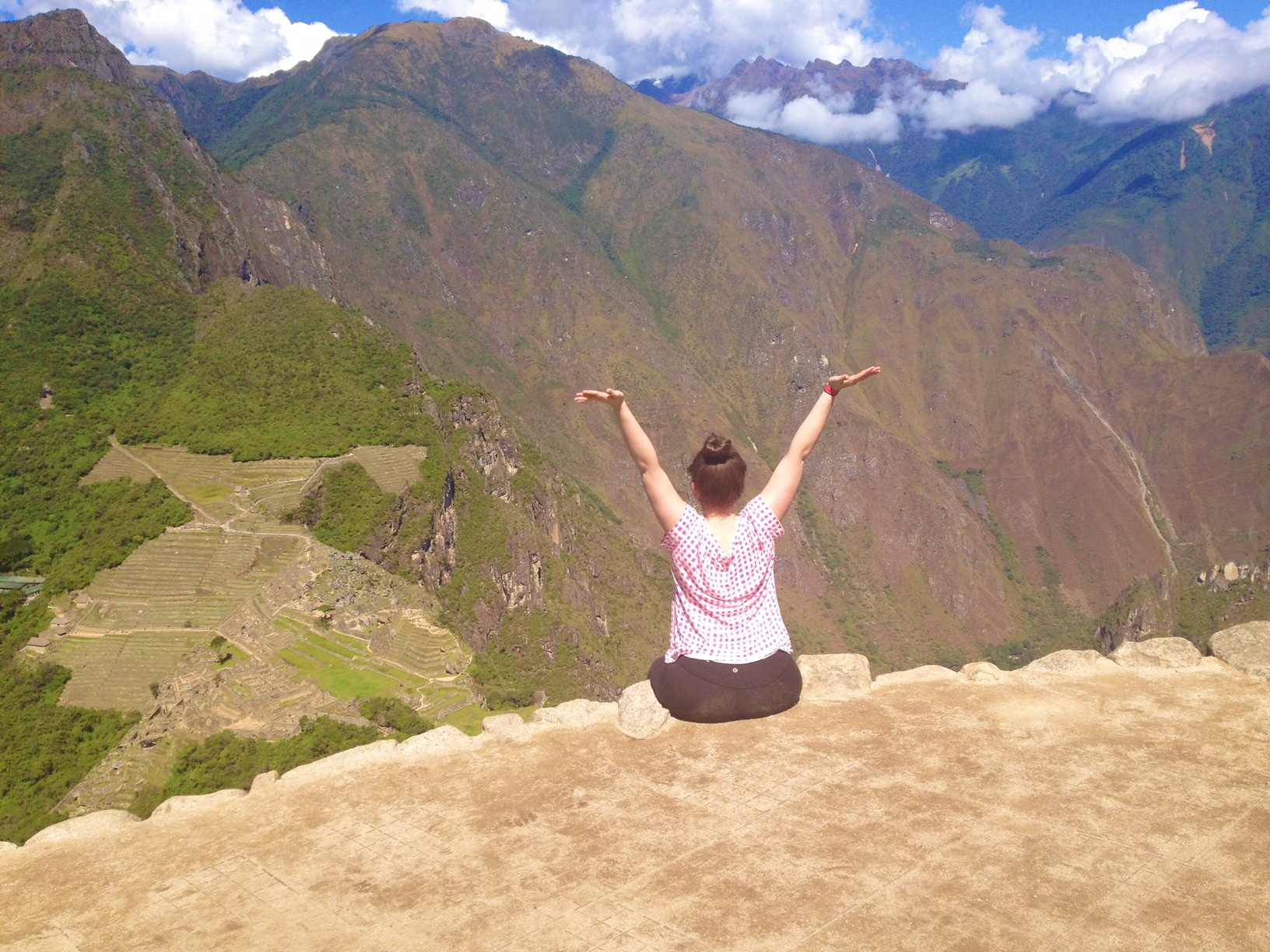 (From the top of Huayna Picchu)