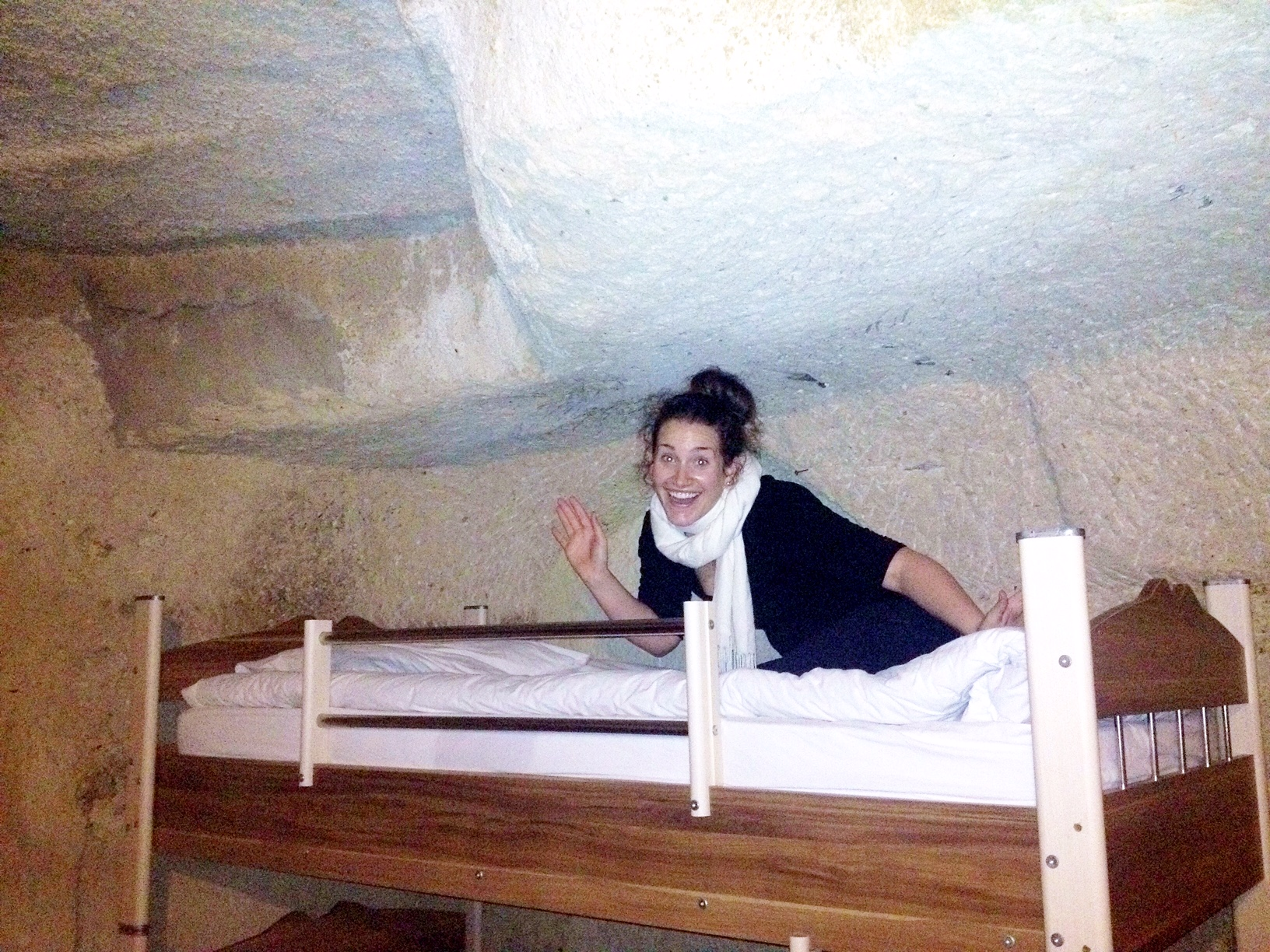 I stayed in a cave and it was dope!