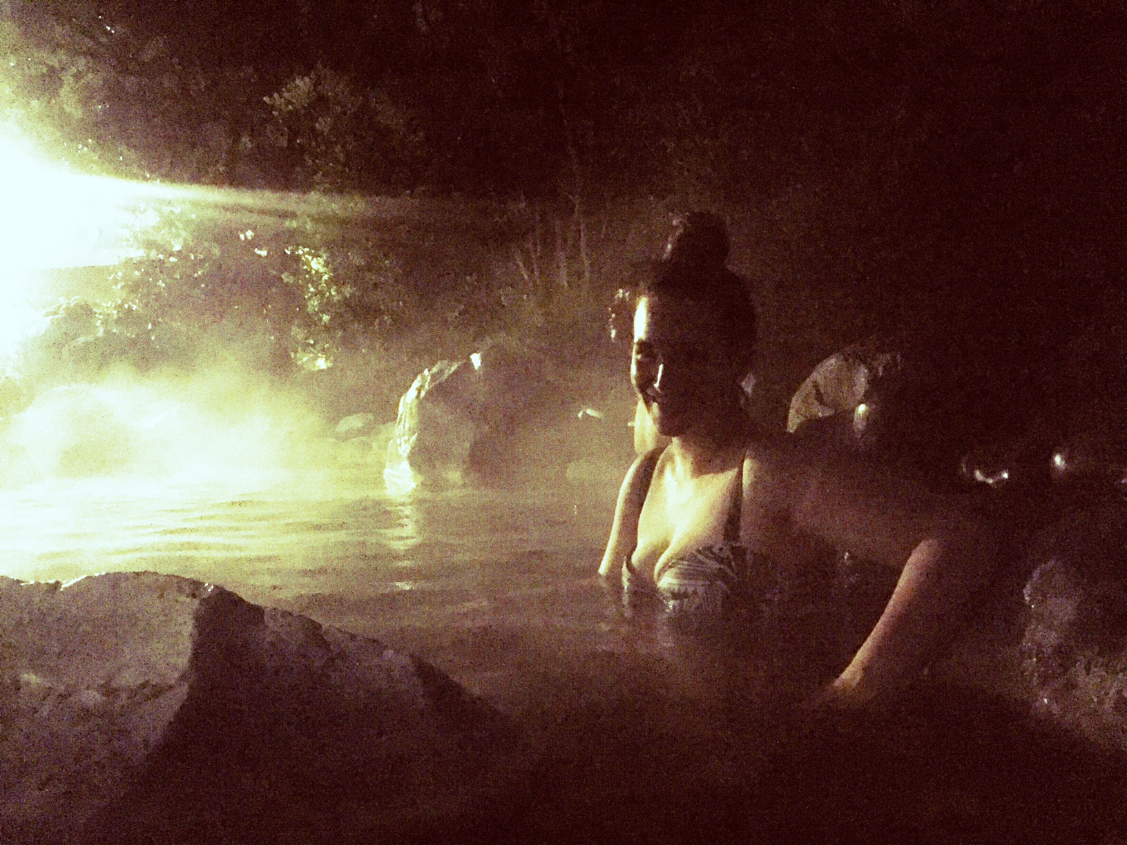 soaking in the moonlight