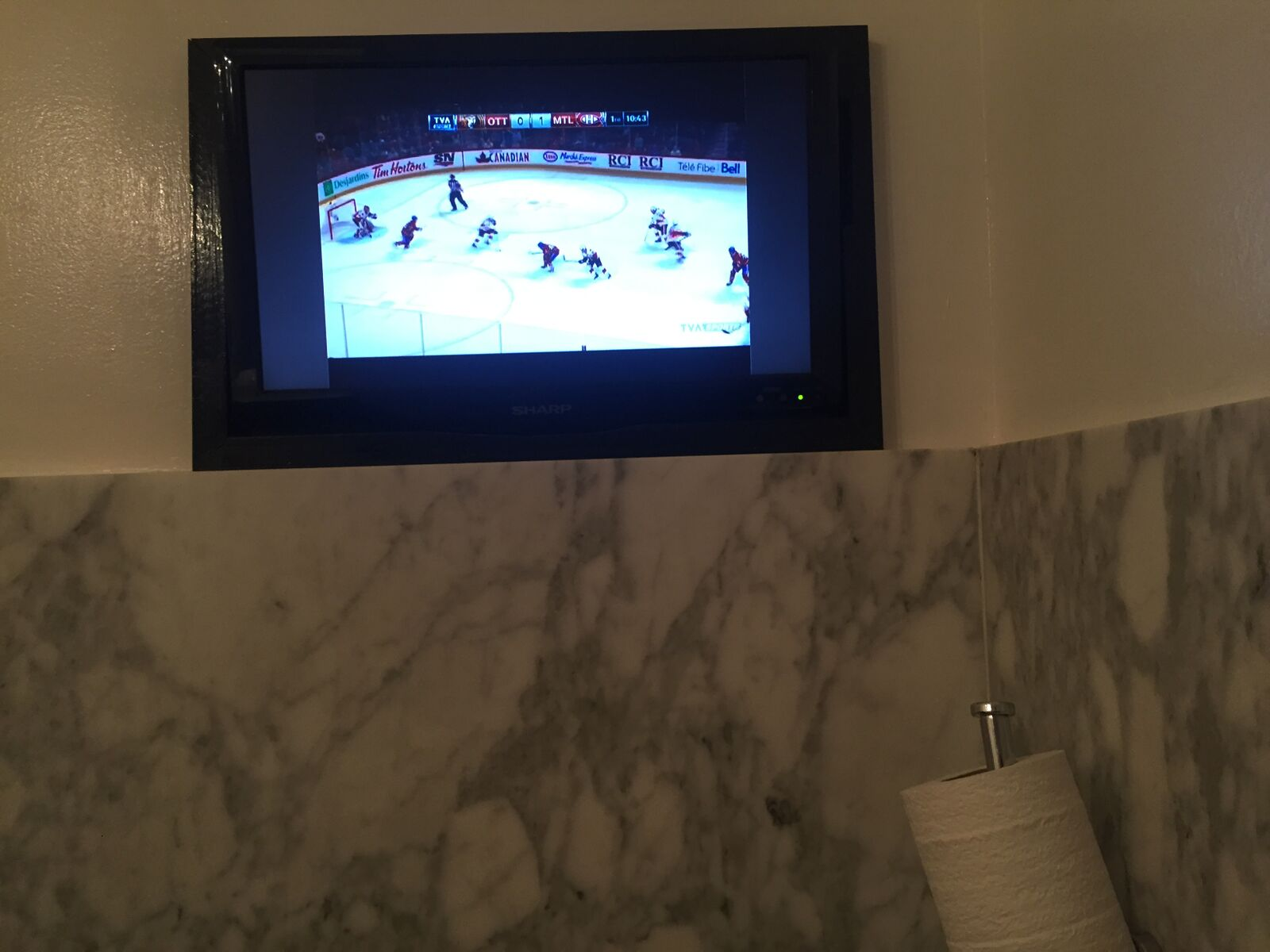 Also, shout out to Canadians for not wanting you to miss a minute of the v v important hockey game just because you've got to piss. Considerate AF