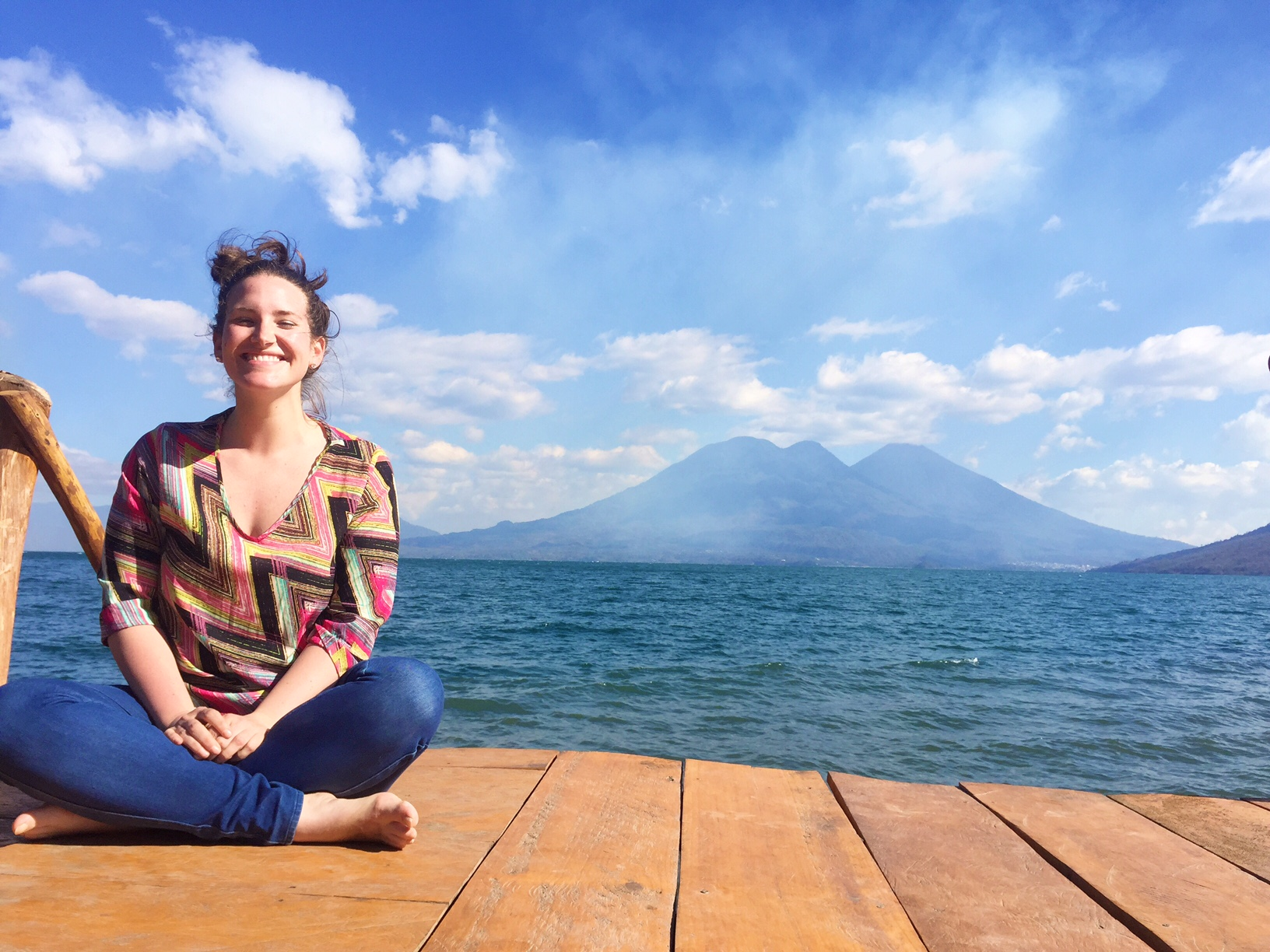 "Atitlan is a Nahuatl word which translates to ""the place where the rainbow gets its colors."""