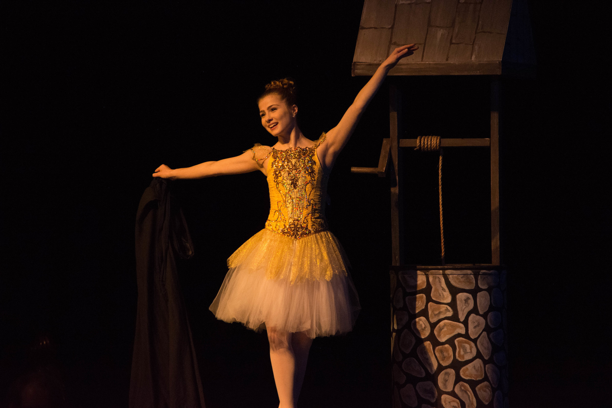 Lilly Schmitz performs as Fay in the premiere of  The Wishing Well.