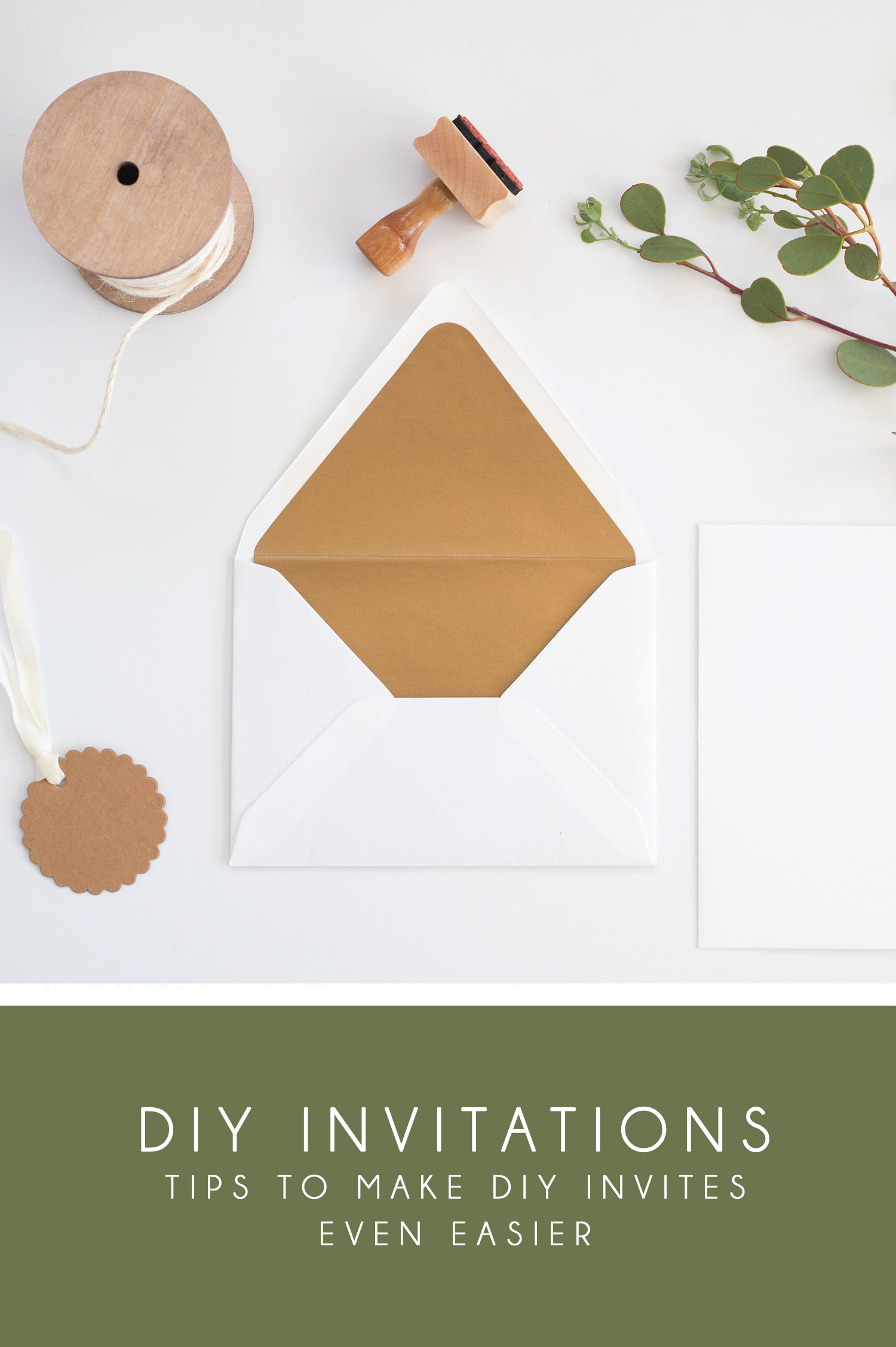 How to DIY Your Wedding Invitations | Aceti Design Co.