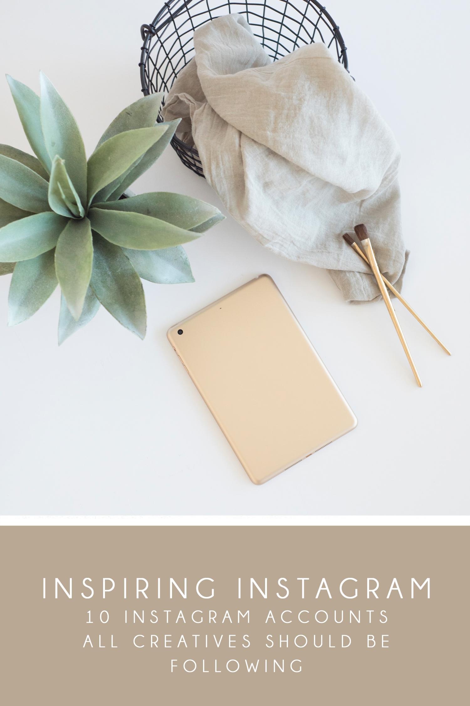 10 Inspirational Instagram Accounts to Follow | Aceti Design Co.