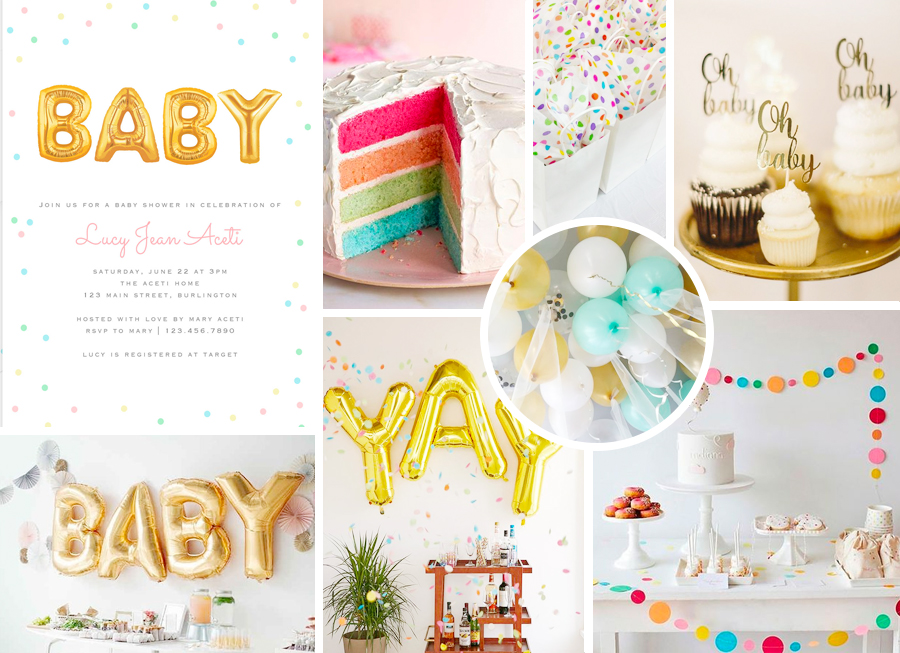 Aceti Design Co. Baby Shower Inspiration