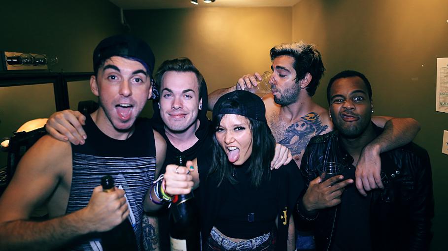 Alex, Cody, me, Jack and Dan