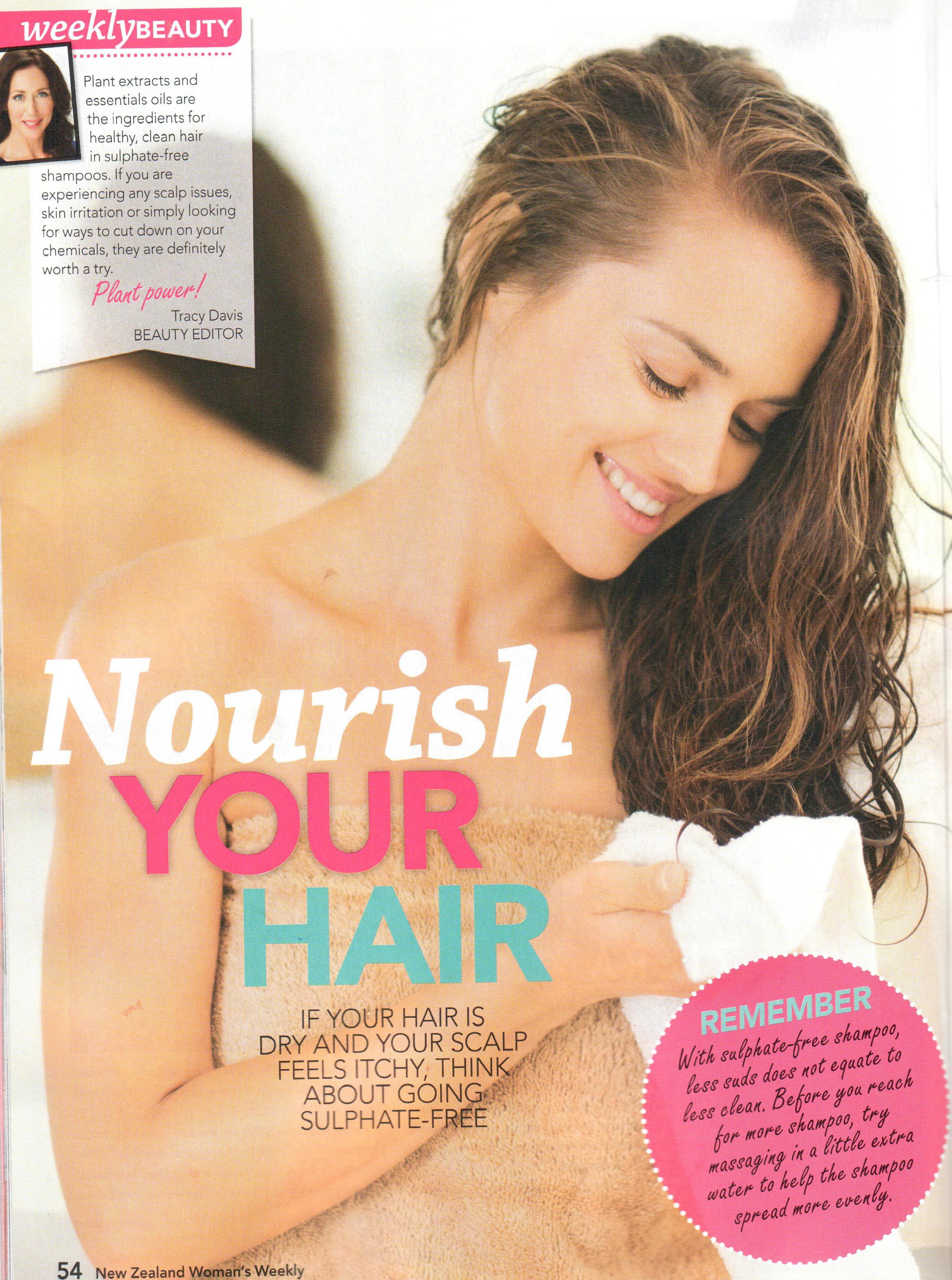 NZ Woman's Weekly 20 March 2017 Helichrysim Shampoo 2.jpg