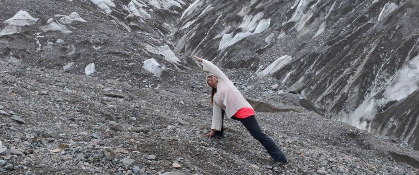 DEVI AT THE FEET OF KAILASH, THE CROWN CHAKRA OF MOTHER EARTH, JULY 2014