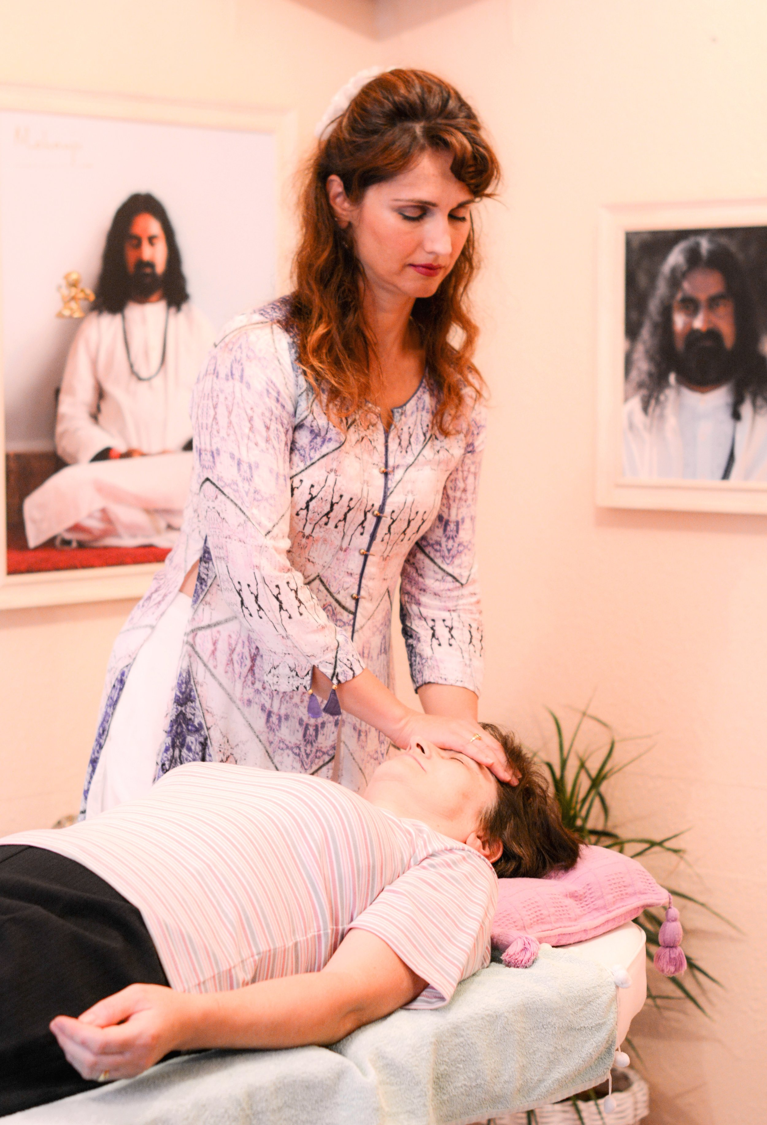 "- This is how Devi describes the experience of Mai-Tri Method:""Loving, warm energy penetrating deep within, all the way to the causal layer....The experience of Mai-Tri Method is beyond words. It is difficult to say what I enjoy more - teaching Yoga or being an instrument of this special technique leading to in-depth self-healing.The Grace that flows during a Mai-Tri session transcends healing - it reaches one's very essence, invoking the sacred inner balance already gifted to each one of us by the Source. Mind will never believe it could be that simple...In the heart of our heart, beyond the karmic blueprint spread over time and space matrix, beyond all the dramas of life, there is That space within, the sacred space filled with purest Love.Like a loving bee extracting the honey, Mai-Tri brings you the taste of that sweetest of Nectar. And to taste it is enough to remember - to remember what we are longing for deep within.It's a great privilege to be an instrument of this energy and experience such height of Love in the human body.. """