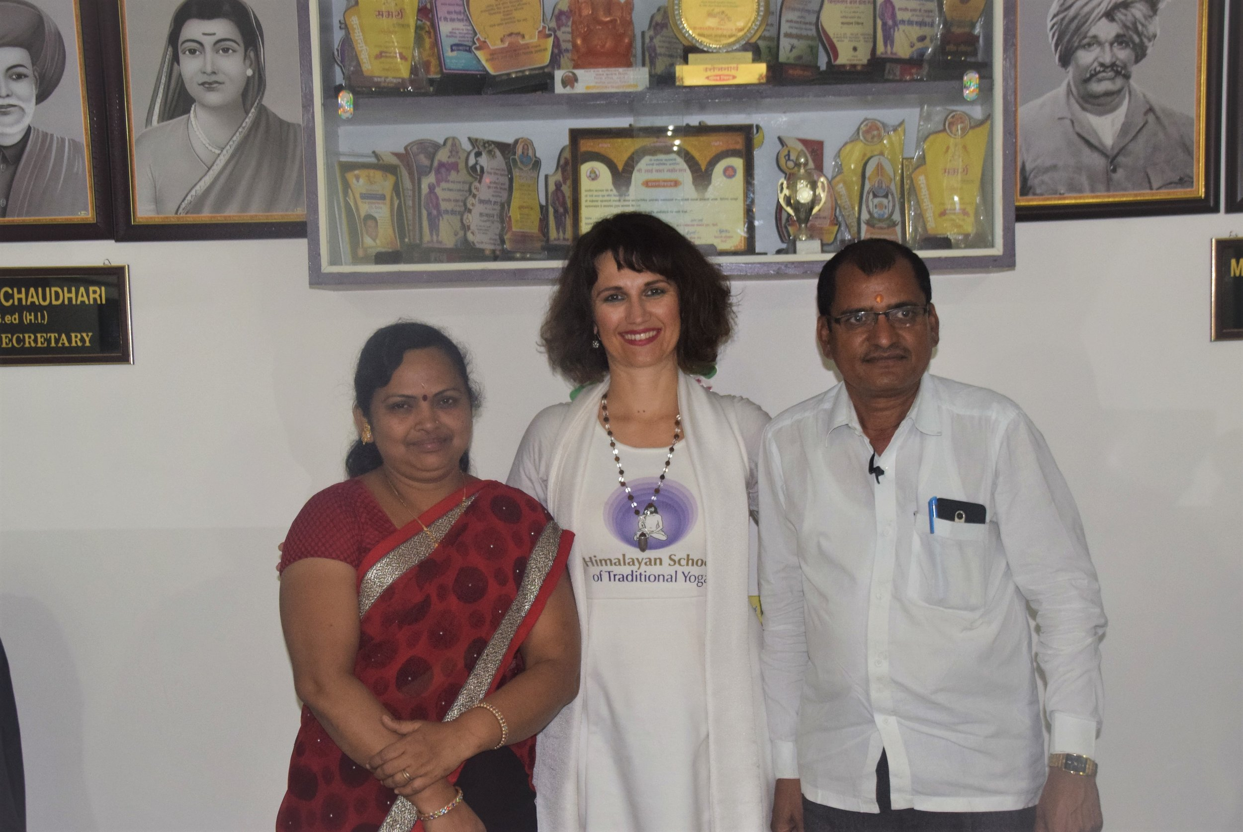 Devi with the Principal of the school.jpg