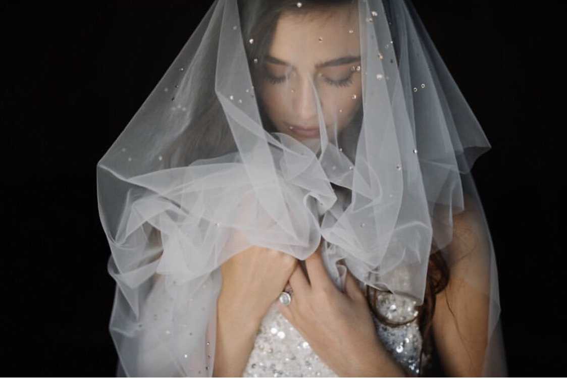 Lucca veil by Daphne Newman