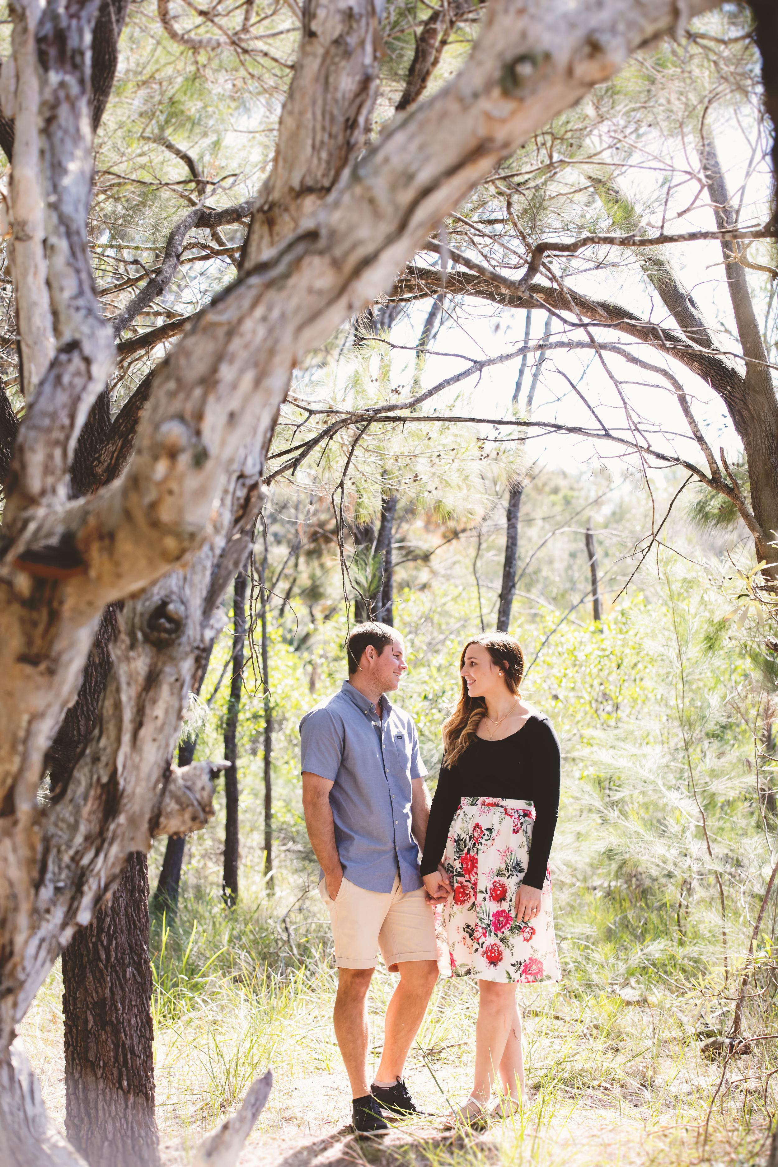 Bec and Tyson's engagement photoshoot, Currimundi Lake, Sunshine Coast. Sunshine Coast Wedding Photographer, images by Lou O'Brien. www.imagesbylouobrien.com