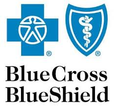 Blue Cross Blue Shield commercial plans, any state (however, no BCBS Marketplace plans are accepted at this time)
