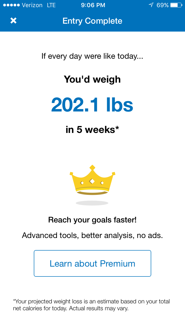 "*This is the ""Reward"" moment for MyFitnessPal (acquired by Under Armour for $475MM in Feb-2015)."