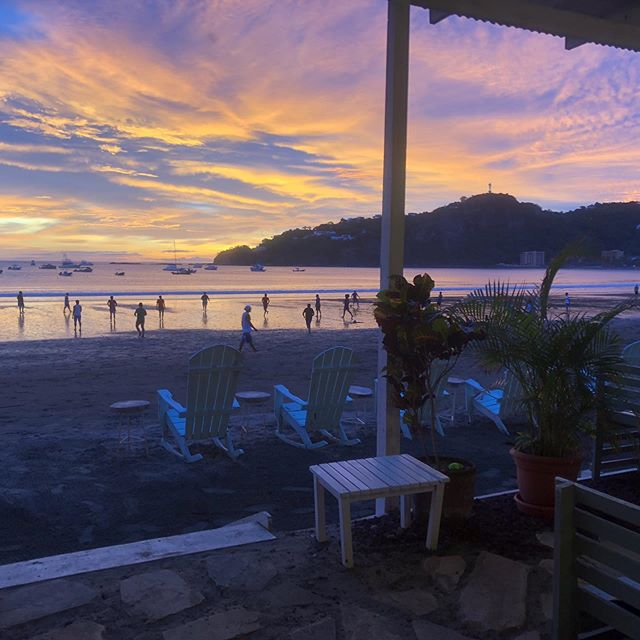 View from the beach house #nofilter #surf #nicaragua #sanjuandelsur 👉Coconutsurf.com