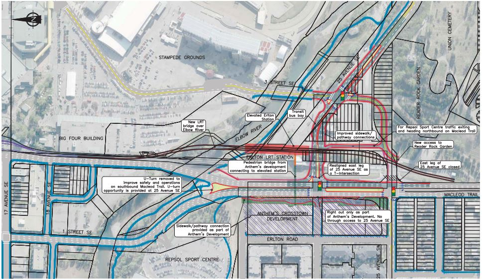 Option A (Image source: City of Calgary)