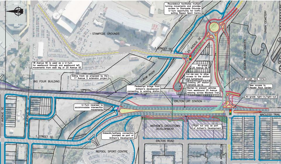 Option B (Image source: City of Calgary)