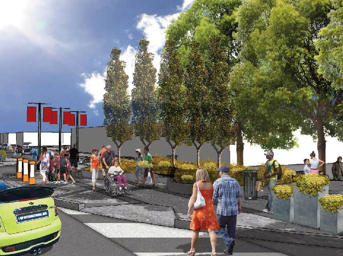 The re-vamped International Ave will be here sooner than you think. (Photo source: International Avenue.