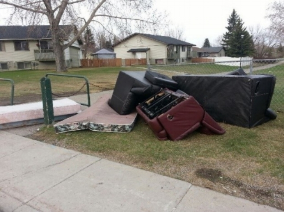 Illegal dumping like this in Dover is unfair to the community, it's residents, and costs all taxpayers more.
