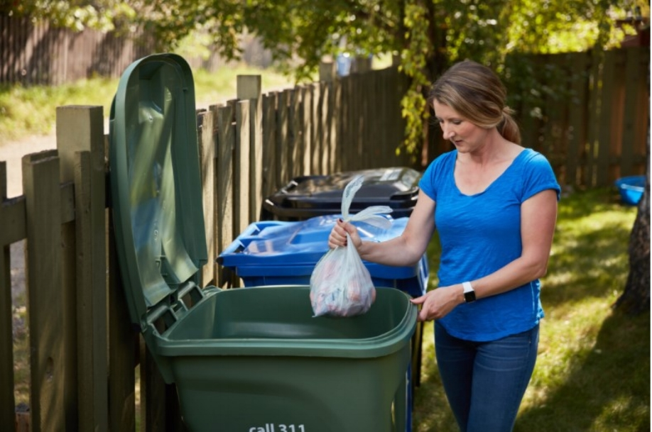 Put your Carts out before 7 a.m.   on collection day and   put your carts away after 7 p.m.   on collection day.